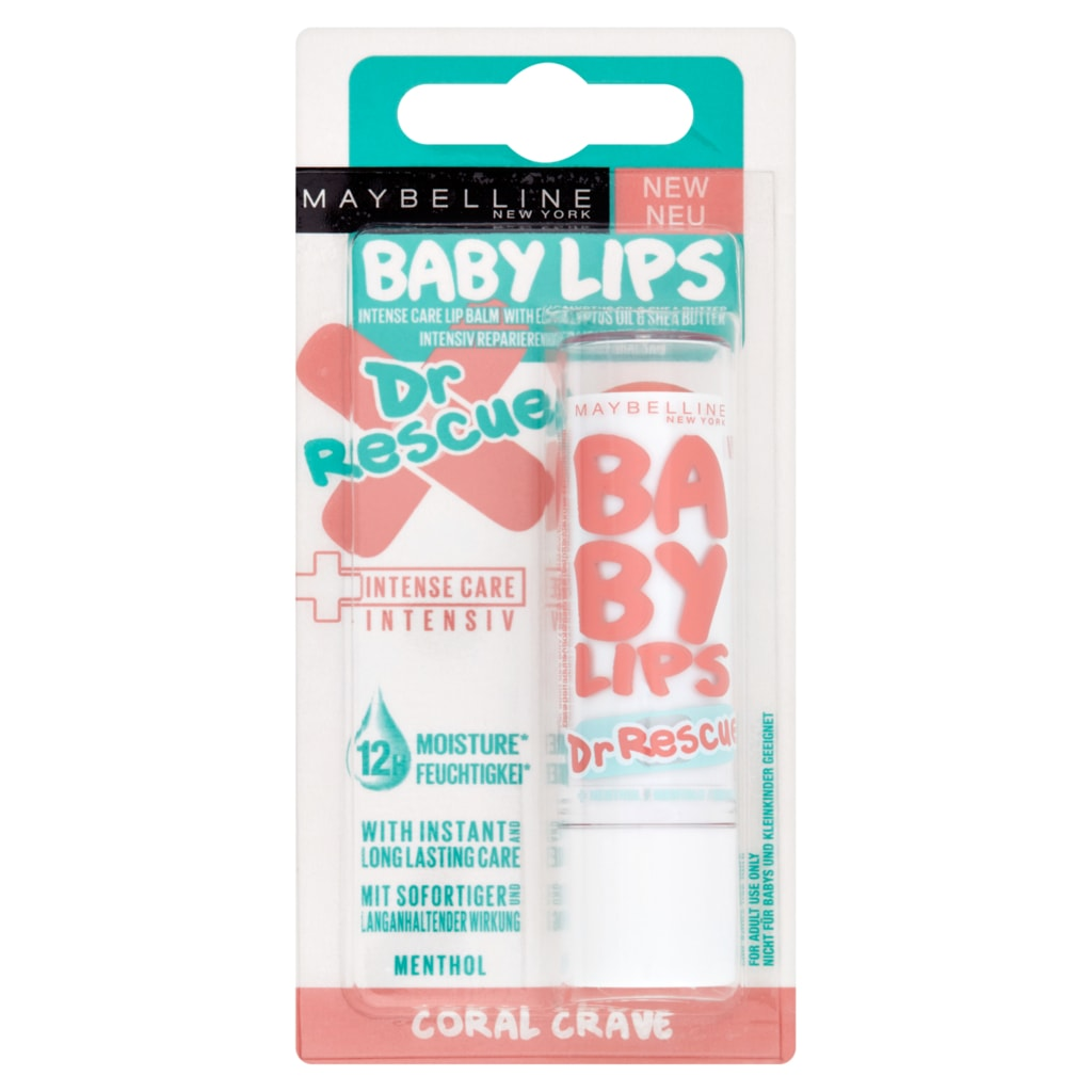 Maybelline Baby Lips Dr Rescue balzám na rty Coral Crave - Lavado.cz 01657c91afd