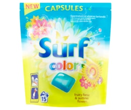 Surf Color Fruity Fiesta kapsle na praní 15 praní