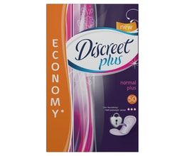 Discreet Plus Normal intimky 50ks