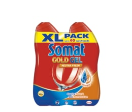 Somat Gold NeutraFresh Gel do myčky 2x600ml