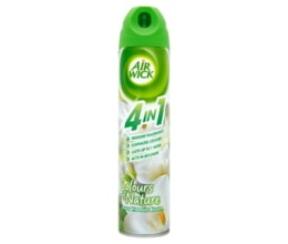 Air Wick Colours of nature 4in1 aerosolový sprej bílé květy frézie 240ml