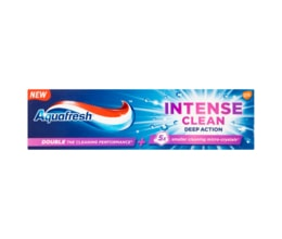 Aquafresh Intense clean deep action zubní pasta s fluoridem 75ml