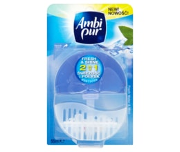 Ambi Pur Fresh Water & Mint tekutý WC blok 55ml