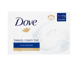 Dove Beauty Cream krémová tableta 4x100g
