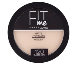 Maybelline New York Fit Me Matte + Poreless 120 Classic Ivory pudr 14g