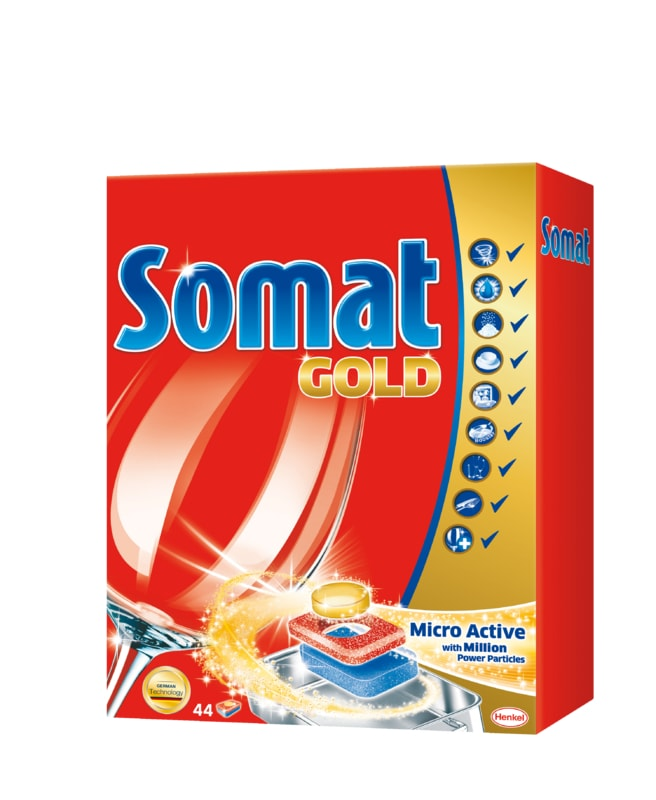 Somat Gold tablety do myčky 44ks
