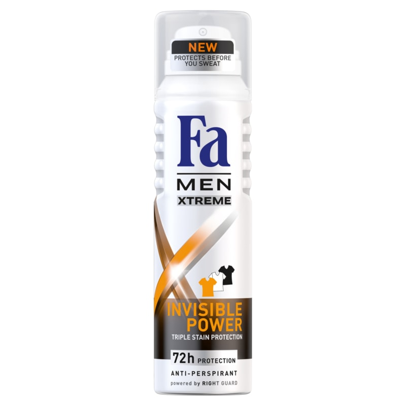 Fa Men Xtreme Invisible Power Antiperspirant 150ml
