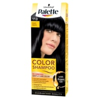 Schwarzkopf Palette Color Shampoo barva na vlasy Černý 113
