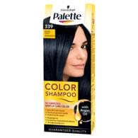 Schwarzkopf Palette Color Shampoo barva na vlasy Modročerný 339