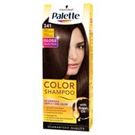 Schwarzkopf Palette Color Shampoo barva na vlasy Tmavě čokoládový 341