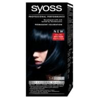 Syoss barva na vlasy Modročerný 1-4