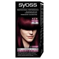 Syoss barva na vlasy Šarlatově Rudý 4-22