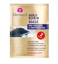 Dermacol Gold Elixir jednorázová maska