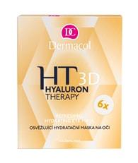 Dermacol Hyaluron Therapy 3D osvěžující hydratační maska na oči