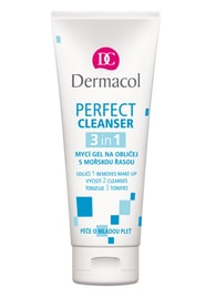 Dermacol Perfect Cleanser 3v1 mycí gel na obličej 100ml