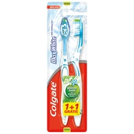 Zubní kartáček Colgate Max White 1+1 střední twinpack