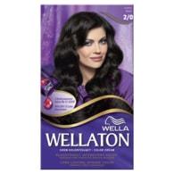 Wellaton Kit krémová barva na vlasy černá 2/0