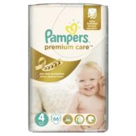 Pampers Premium Care 4 Maxi 66ks jednorázové plenky