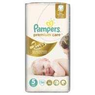 Pampers Premium Care 5 Junior 56ks jednorázové plenky