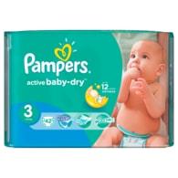Pampers Active Baby 3 Midi 42ks jednorázové plenky