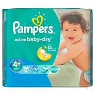 Pampers Active Baby 4 Maxi+ 32ks jednorázové plenky