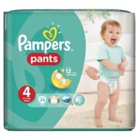 Pampers Carry Pack 4 Maxi 24ks kalhotkové plenky