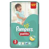 Pampers Jumbo Pack 5 Junior 48ks kalhotkové plenky