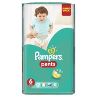 Pampers Jumbo Pack 6 Extra Large 44ks kalhotkové plenky