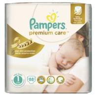 Pampers Premium Care 1 Newborn 88ks jednorázové plenky