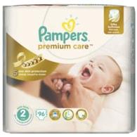 Pampers Premium Care 2 Mini 96ks jednorázové plenky