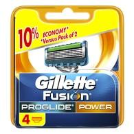 Fusion ProGlide Power náhradní hlavice 4ks