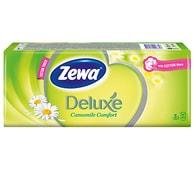 Zewa Deluxe heřmánek kapesníčky 10x10ks