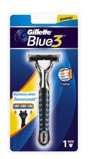 Blue3 holící strojek + 1 hlavice