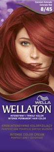 Wellaton barva na vlasy 845 Světle granátově červená