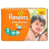 Pampers Sleep&Play 5 Junior 42ks jednorázové plenky