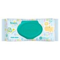 Pampers Ubrousky Fresh Clean 64ks