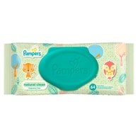 Pampers Ubrousky Natural Clean 64ks
