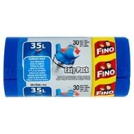 Fino vázací pytle na odpadky modré 35L 30ks