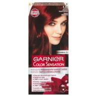 Garnier Color Sensation Intenzivní permanentní barvicí krém intenzivní tmavě červená 4.60