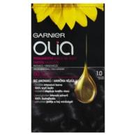 Garnier Olia Permanentní barva na vlasy ultra černá 1.0