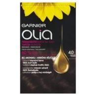 Garnier Olia Permanentní barva na vlasy tmavě hnědá 4.0