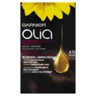 Garnier Olia Permanentní barva na vlasy ledová čokoláda 4.15