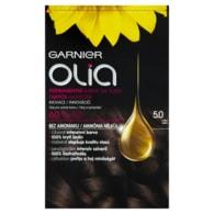 Garnier Olia Permanentní barva na vlasy hnědá 5.0