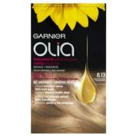 Garnier Olia Permanentní barva na vlasy oslnivá světlá blond 8.13