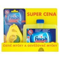 Finish Čistič myčky a osvěžovač myčky Lemon