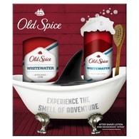 Old Spice WhiteWater - dárková sada: deodorant ve spreji + voda po holení