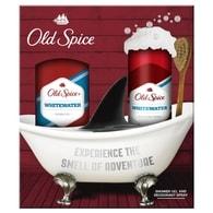 Old Spice WhiteWater - dárková sada: deodorant ve spreji + sprchový gel