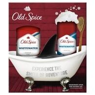 Old Spice WhiteWater - dárková sada: tuhý deodorant + sprchový gel