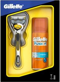 Gillette Dárkové Balení: Fusion Proshield holicí strojek + hydratační gel na holení 75ml