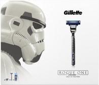 Vánoční kazeta Gillette Mach3 Turbo Holicí strojek + náhradní hlavice 2ks + Extra Comfort Gel na holení 75ml